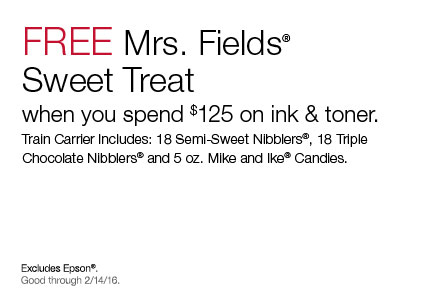 Mrs fields coupon code