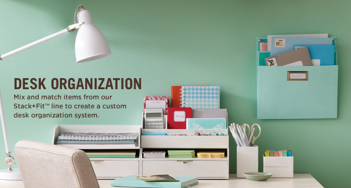 Martha stewart - Desk organization accessories ...