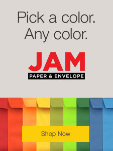 JAM Envelopes and Paper Products.