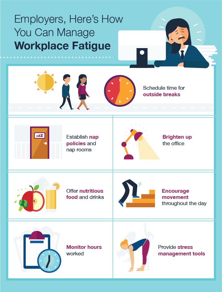 Managing Fatigue In The Workplace Strategies For