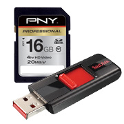 Flash Drives/CDs/Memory Cards