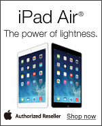 iPad® Air. The power of lightness.