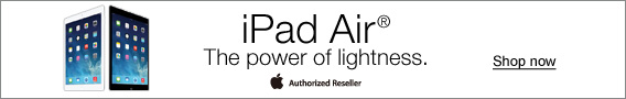 iPad Air®. The power of lightness.