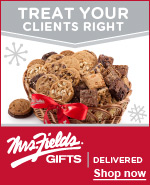 Treat your clients right | Mrs. Fields® gifts | Delivered