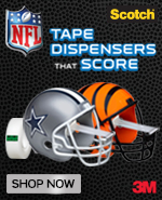 Tape dispensers that score. Shop now