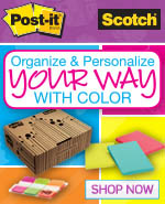 Organize and personalize your way with color!
