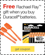 Spend $50 on Duracell Batteries and receive free 3 piece RR spatula set