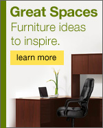 Great spaces. Furniture ideas to inspire.