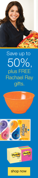 Save up to 50%, plus FREE Rachael Ray™ gifts.