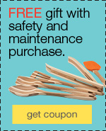 FREE Rachael Ray™ gift when you buy safety and maintenance supplies.