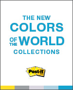 The new colors of the world collections