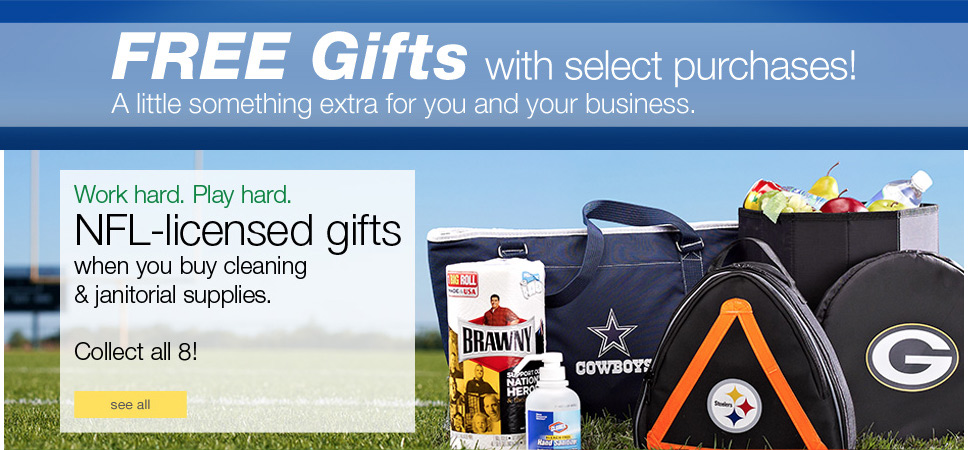 FREE Gifts with select purchases!