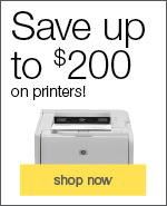Save up to $200 on printers