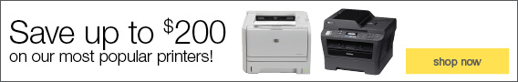 Save up to $200 on our most popular printers!