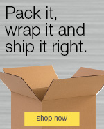 Pack it, wrap it, and ship it right.