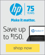 HP is celebrating 75 years of innovation. We're celebrating with 75 days of HP savings!