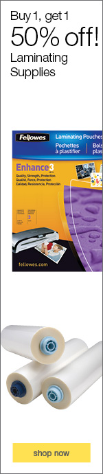 Fellowes Laminating sheets