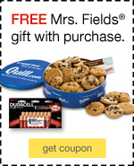 FREE Mrs. Fields® gift with purchase.