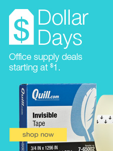 Quill invisible tape
