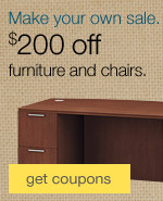 Make your own sale. $200 off furniture and chairs.