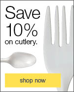 Save 10% on cutlery.