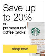 premeasured coffee packs