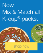 Now Mix & Match all K-cup® packs.