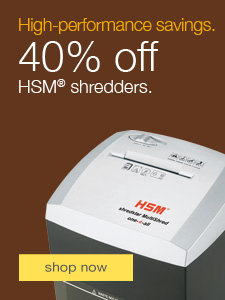 HSM shredder