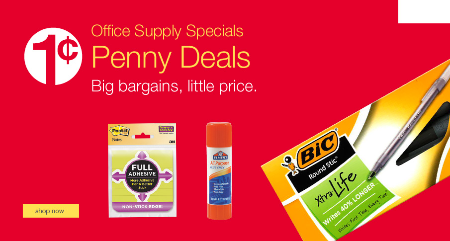 Penny Deals. Big bargains, little prices.