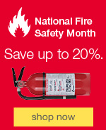 National Fire Safety Month