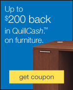 $50 QuillCash with chair purchase.