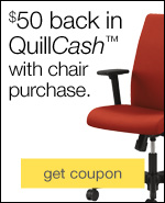Up to $200 in QuillCash with furniture, chair & decor purchase.