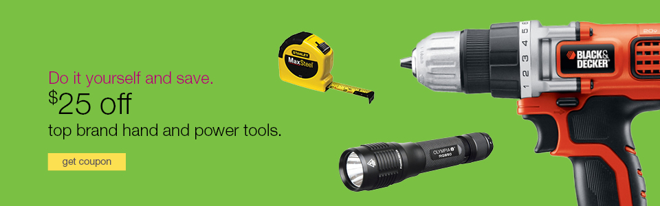 Do it yourself and save. Special offers on top brand hand tools & power tools.