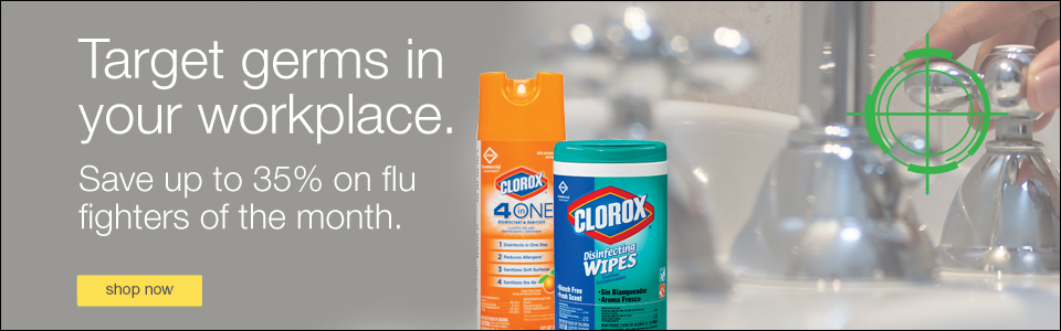Save up to 35% on flu-fighting solutions.