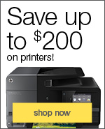 our most popular printers