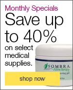 Monthly SpecialsSave up to 40% on select medical, exam and treatment supplies.