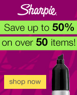 Sharpie®: Save up to 50% on over 50 items!