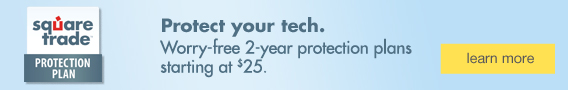Protect your tech. Worry-free 2-year protection plans starting at $25.