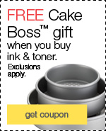 Cake Boss™ 3-piece round cake set
