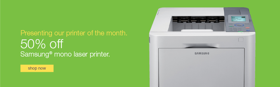 Presenting our printer of the month!