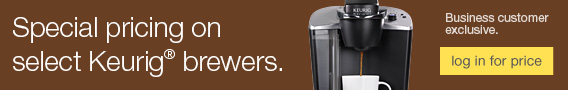 Special pricing on select Keurig® brewers. Business customer exclusive. Login now to see your prices.