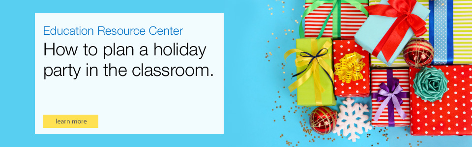 How to plan a holiday party in classroom.