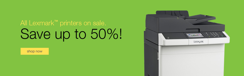 All Lexmark™ printers on sale.