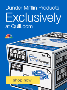 Dunder Mifflin products exclusively at Quill.com