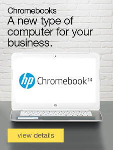Chromebooks. A new type of computer for your business.
