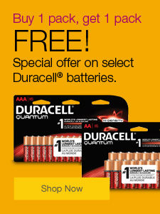 Duracell® batteries