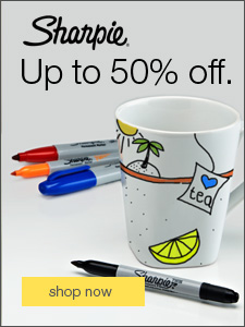 Save up to 50% during our Sharpie Event.