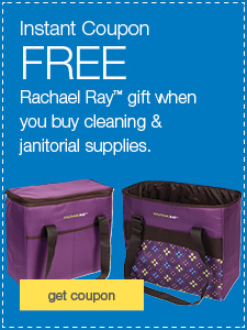 FREE Rachael Ray™ gift when you buy cleaning & janitorial supplies.