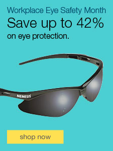 Save up to 42% on eye protection.