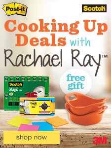Cooking Up Deals with Rachael Ray™ free gift